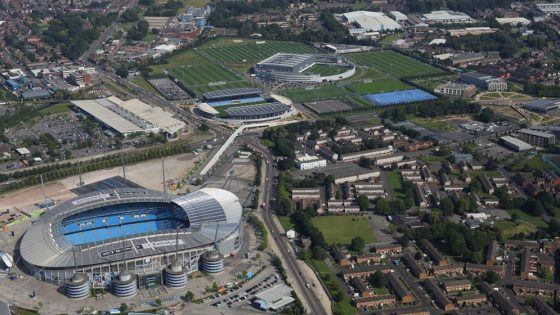 Manchester City Football Club the Etihad Stadium and Academy Sports Complex Eastlands Manchester
